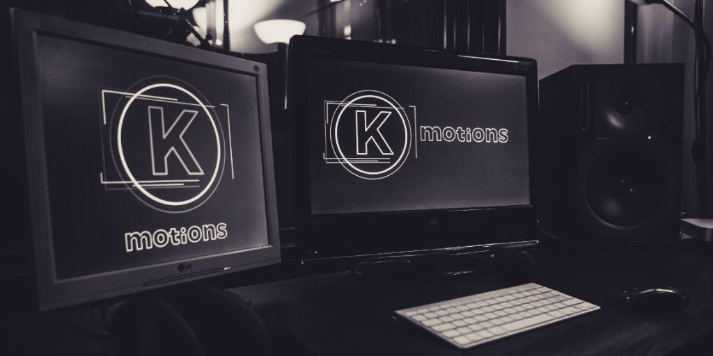 Logo Keymotions visibile su schermi di computer