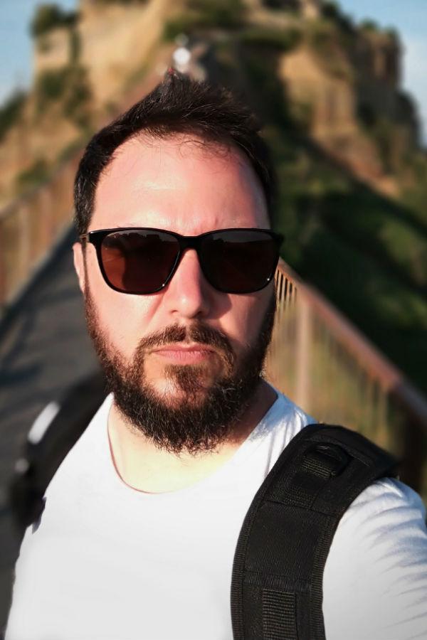 Portrait Andrea Sartori: fondatore della casa di produzione audio video Keymotions