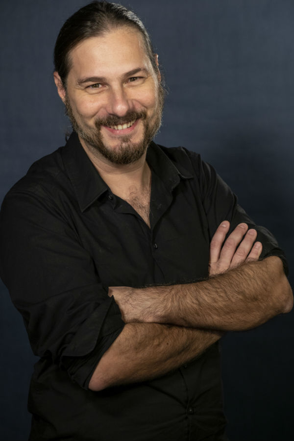 Portrait Giacomo Vaghi: fondatore della casa di produzione audio video Keymotions